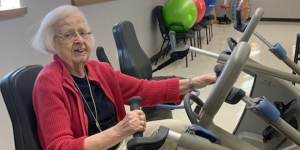 recumbent bike exercise senior
