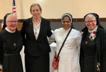 Sister of St. Rita Honored by Knights of Columbus